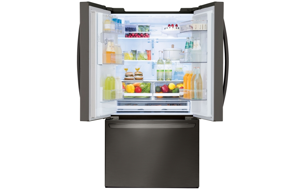 Model: LFXS28968D | LG 28 cu.ft. Smart wi-fi Enabled French Door Refrigerator