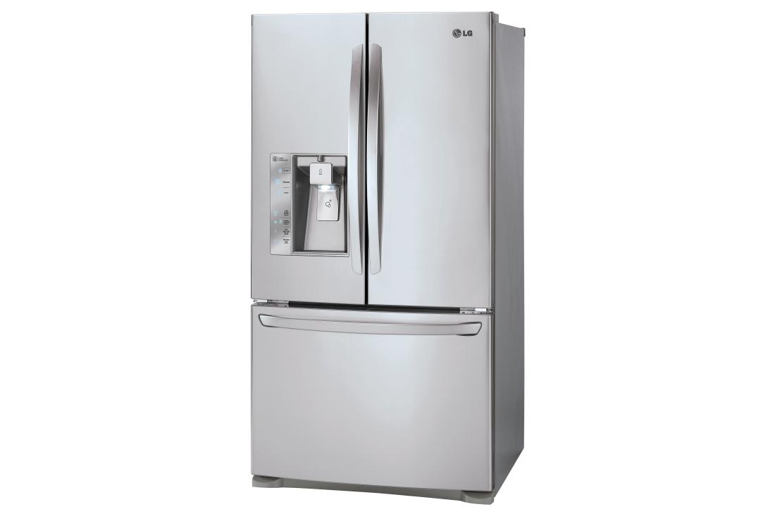 Model: LFXC24726S | LG 24 cu. ft. French Door Counter-Depth Refrigerator