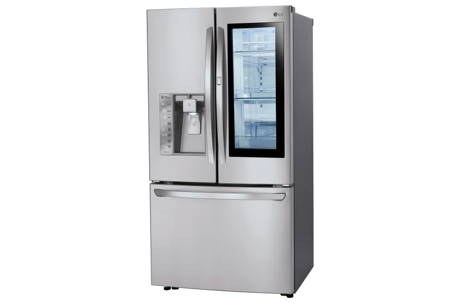 Model: LFXC24796S | 24 cu. ft. Smart wi-fi Enabled InstaView™ Door-in-Door® Counter-Depth Refrigerator