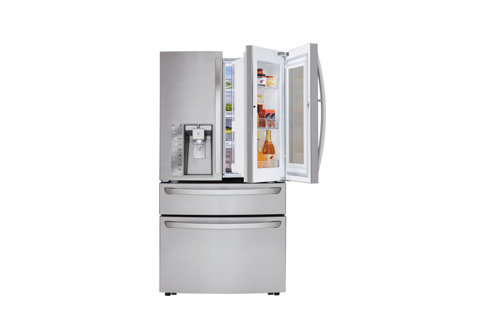 Model: LMXC23796S | LG 23 cu. ft. Smart wi-fi Enabled InstaView™ Door-in-Door® Refrigerator