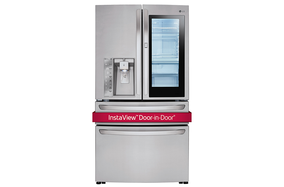Model: LMXC23796S | 23 cu. ft. Smart wi-fi Enabled InstaView™ Door-in-Door® Refrigerator