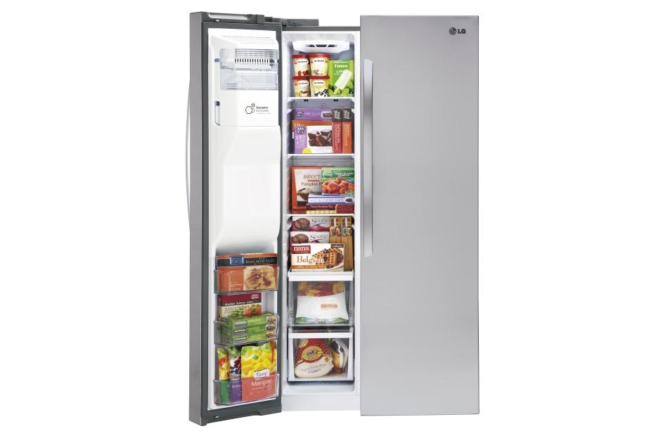 Model: LSXC22426S | LG 22 cu. ft. Side-by-Side Counter-Depth Refrigerator