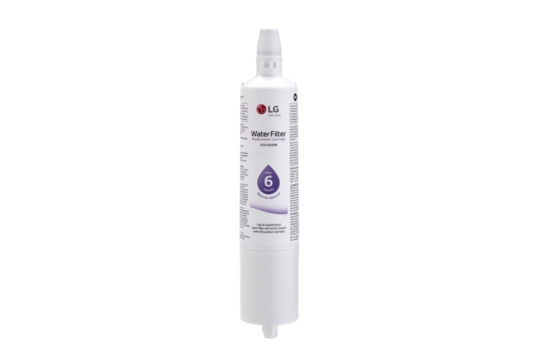 Model: LT600PC | LG 6 Month / 300 Gallon Capacity Replacement Refrigerator Water Filter (5231JA2006)