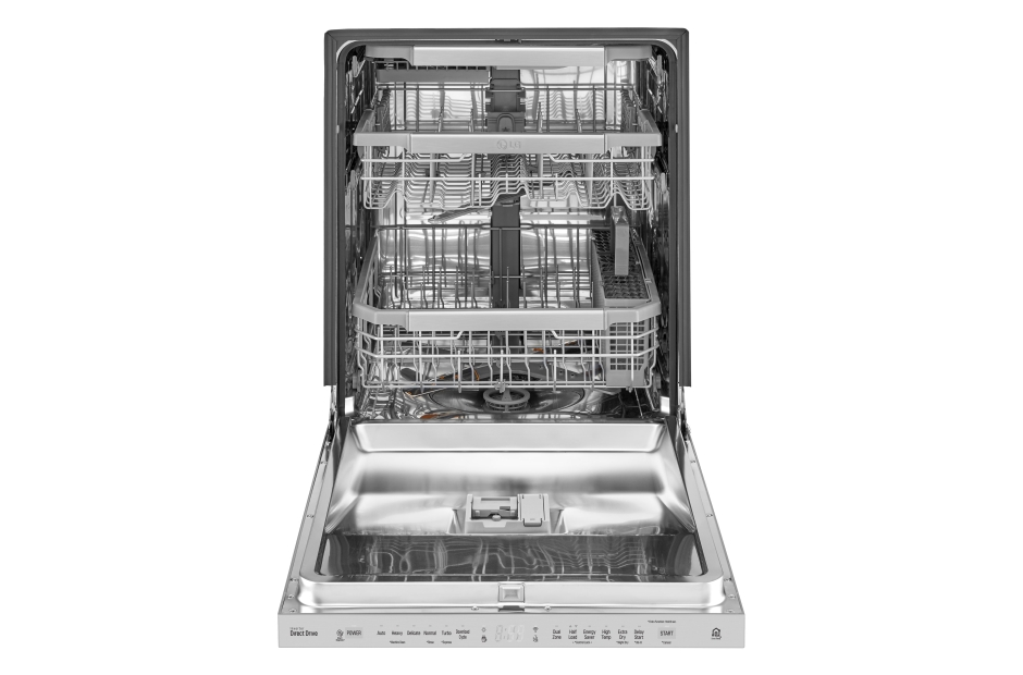 Model: LDP6797ST | LG Top Control Smart wi-fi Enabled Dishwasher with QuadWash™