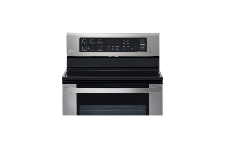 Model: LRE3061ST | LG 6.3 cu. ft. Electric Single Oven Range with EasyClean®