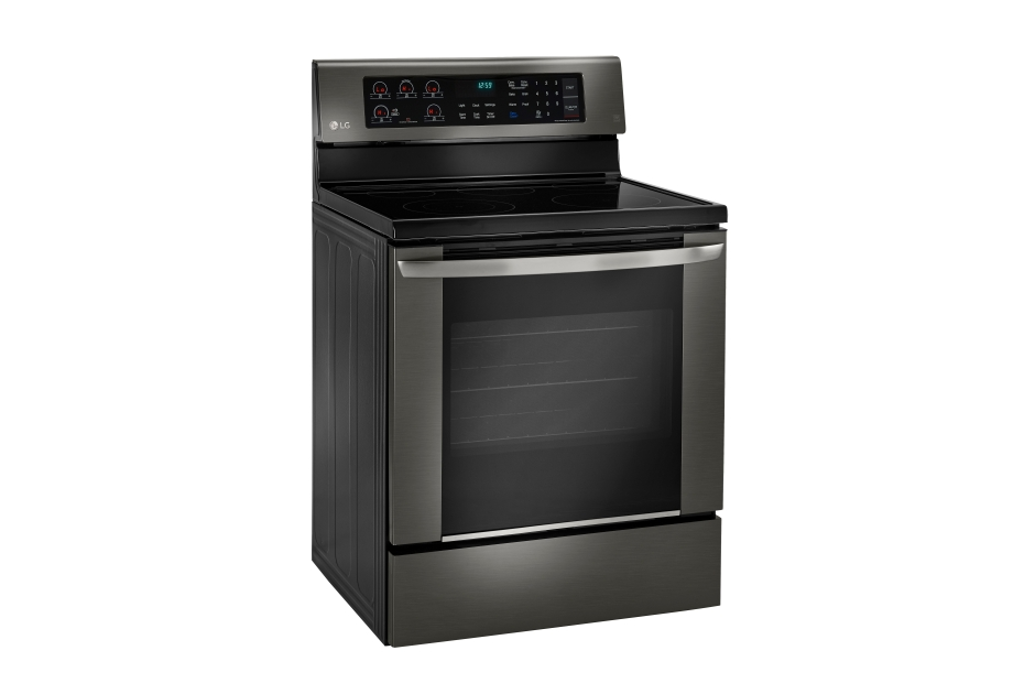 Model: LRE3061BD | LG 6.3 cu. ft. Electric Single Oven Range with EasyClean®