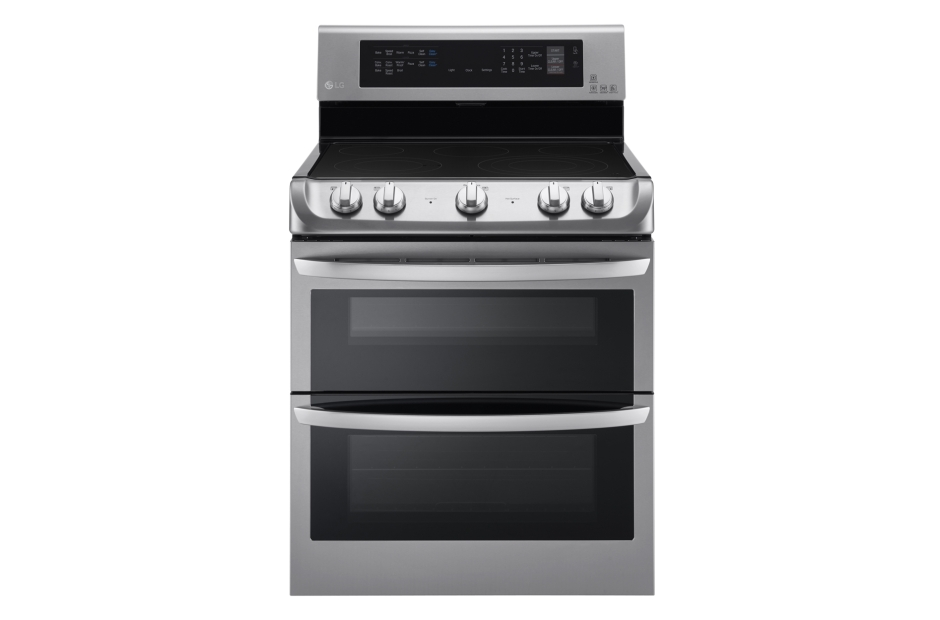 LG 7.3 cu. ft. Electric Double Oven Range with ProBake Convection® and EasyClean®