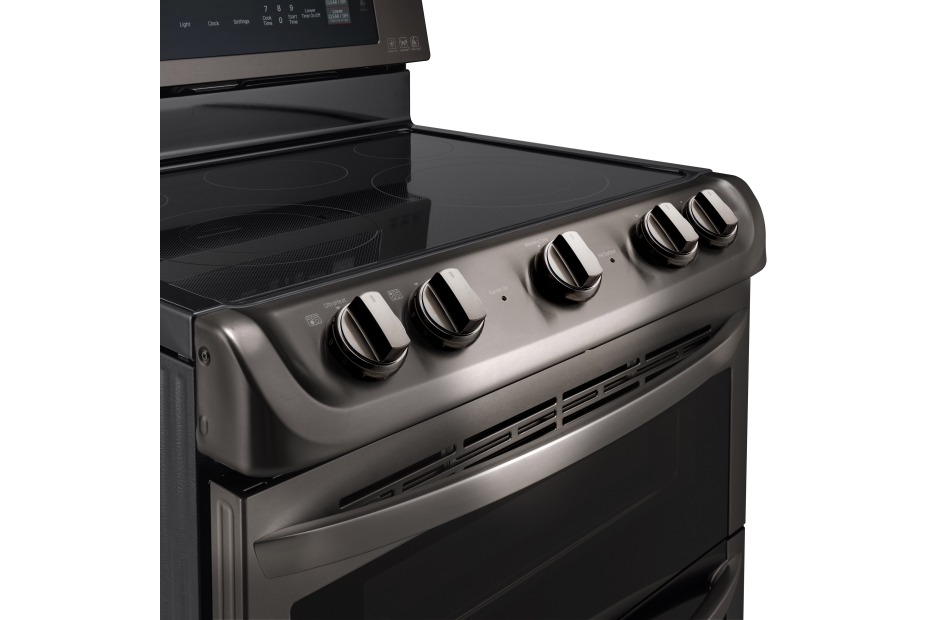 Model: LDE4413BD | 7.3 cu. ft. Electric Double Oven Range with ProBake Convection® and EasyClean®