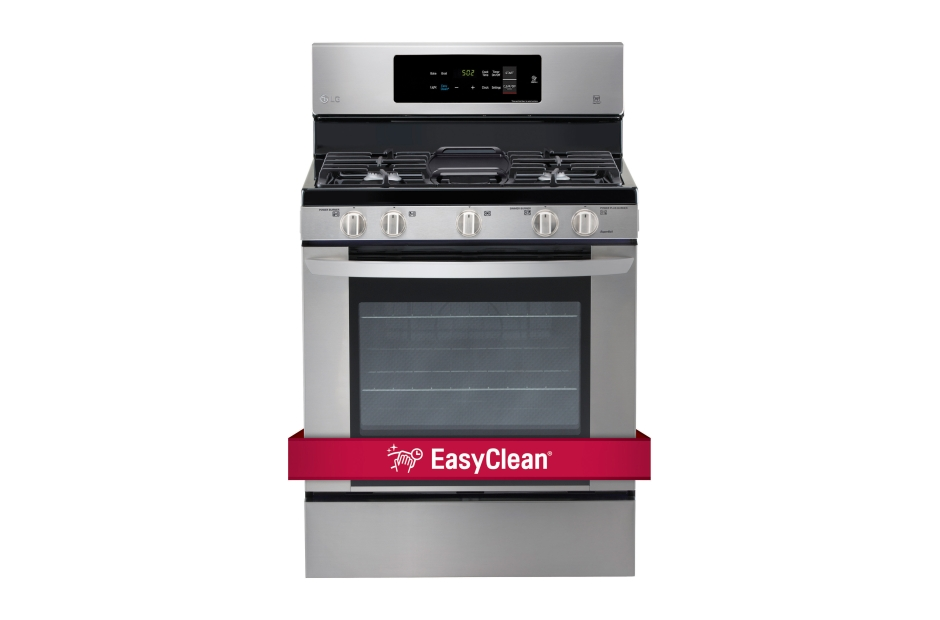 LG 5.4 cu. ft. Single Oven Gas Range with EasyClean®