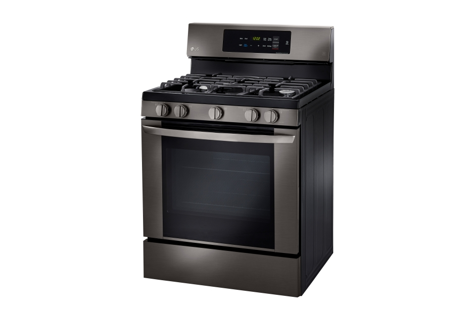Model: LRG3061BD | LG 5.4 cu. ft. Gas Single Oven Range with EasyClean®