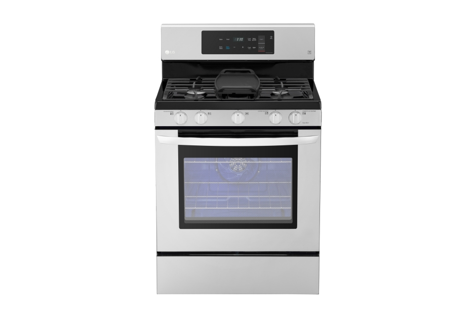 LG 5.4 cu. ft. Gas Single Oven Range with Fan Convection and EasyClean®
