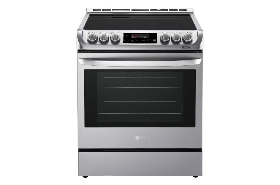 LG 6.3 cu. ft. Electric Single Oven Slide-in Range with ProBake Convection® and EasyClean®