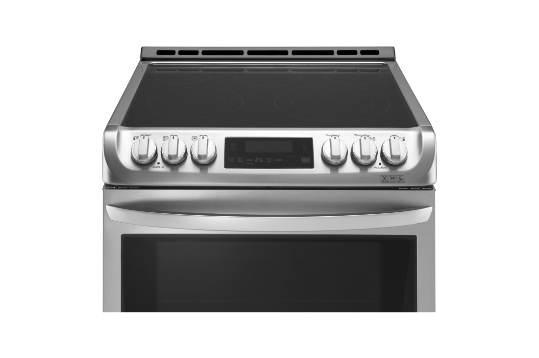 Model: LSE4613ST | LG 6.3 cu. ft. Electric Single Oven Slide-in Range with ProBake Convection® and EasyClean®