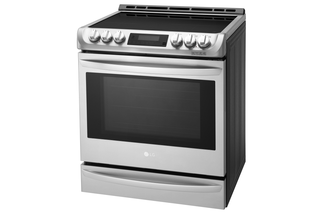 Model: LSE4617ST   LG 6.3 cu. ft. Smart wi-fi Enabled Induction Slide-in Range with ProBake Convection® and EasyClean®
