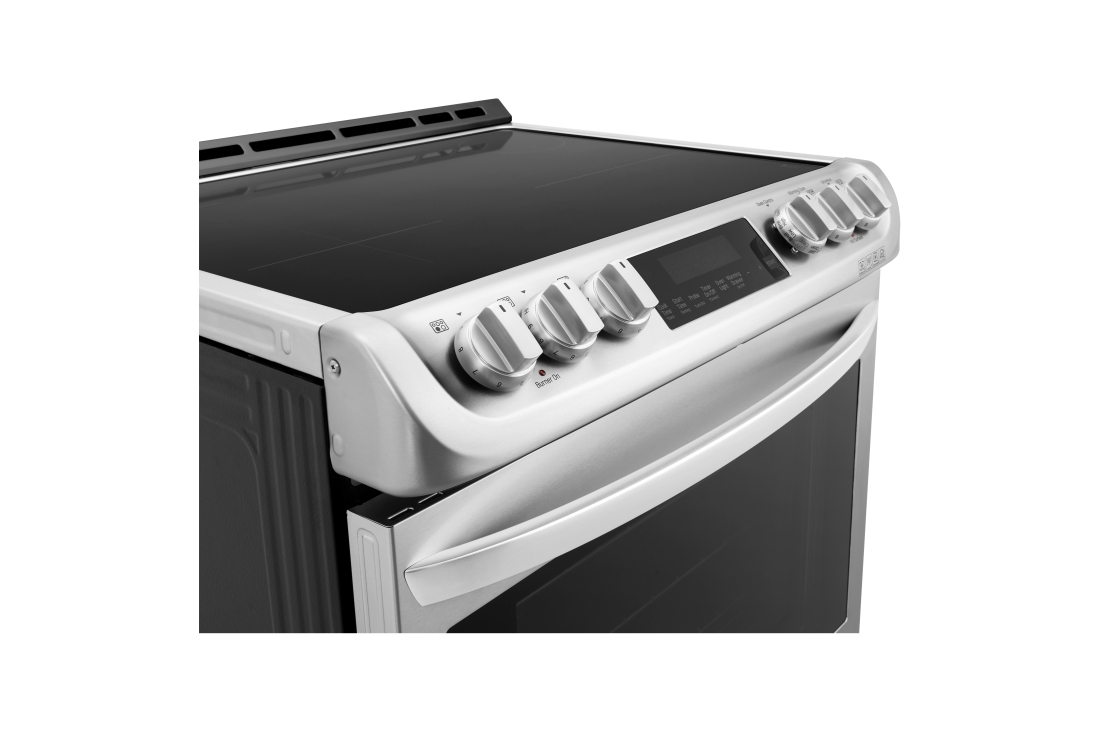 Model: LSE4617ST | LG 6.3 cu. ft. Smart wi-fi Enabled Induction Slide-in Range with ProBake Convection® and EasyClean®