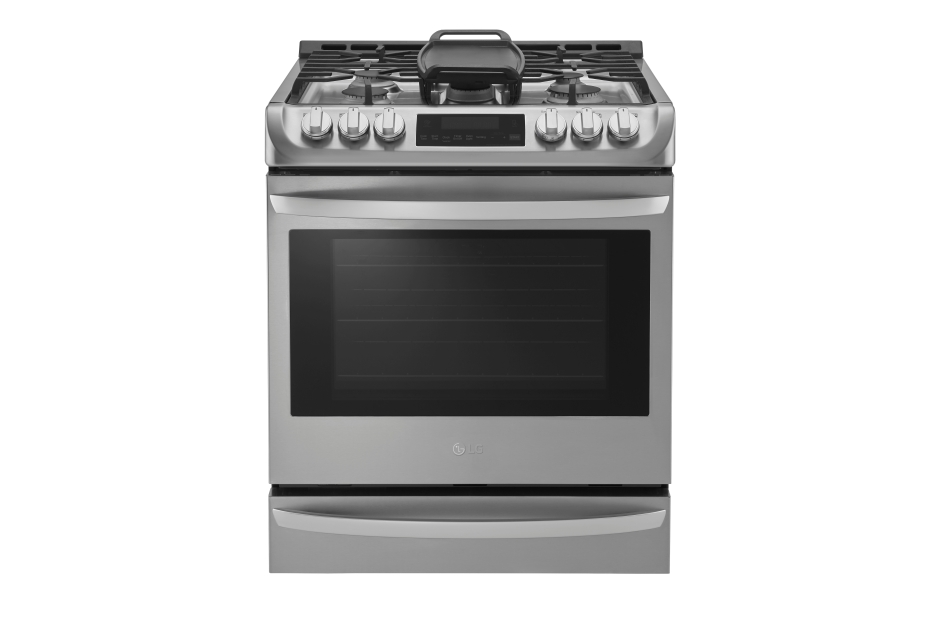 LG 6.3 cu. ft. Gas Single Oven Slide-in Range with ProBake Convection® and EasyClean®