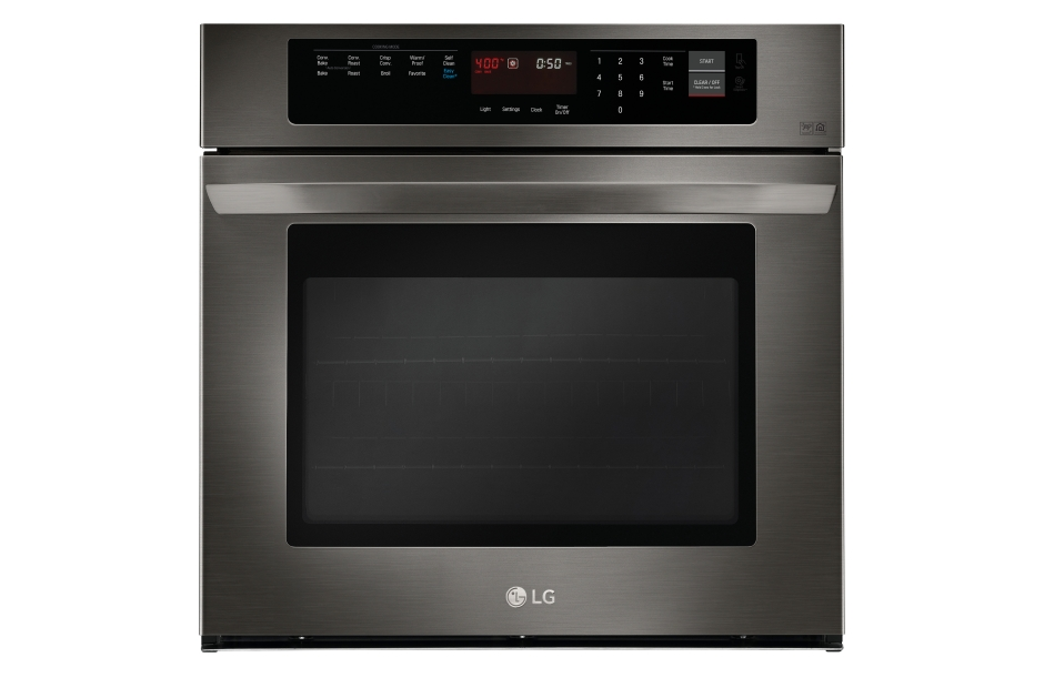 Model: LWS3063BD | LG 4.7 cu. ft. Single Built-In Wall Oven