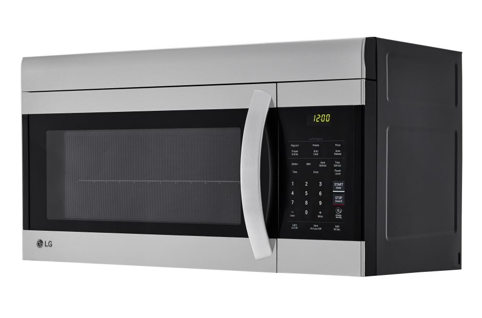 Model: LMV1762ST | LG 1.7 cu. ft. Over-the-Range Microwave Oven with EasyClean®