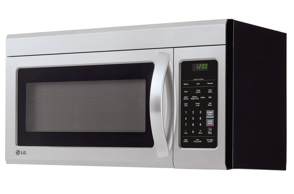 Model: LMV1831ST | LG 1.8 cu. ft. Over-the-Range Microwave Oven with EasyClean®