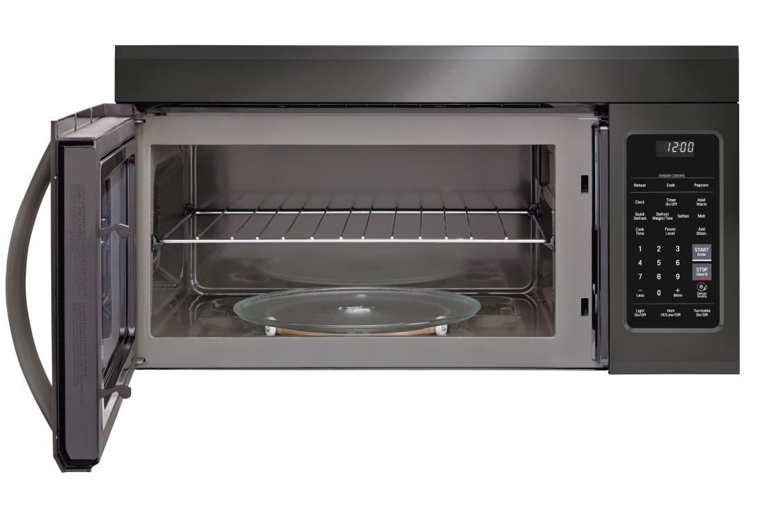 Model: LMV1831BD | LG 1.8 cu. ft. Over-the-Range Microwave Oven with EasyClean®