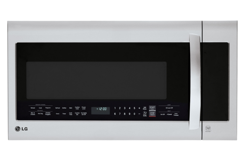 LG 2.0 cu. ft. Over-the-Range Microwave Oven with EasyClean®
