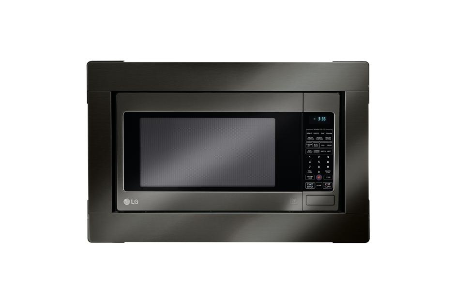 LG Black Stainless Steel Series:  Microwave Trim Kit