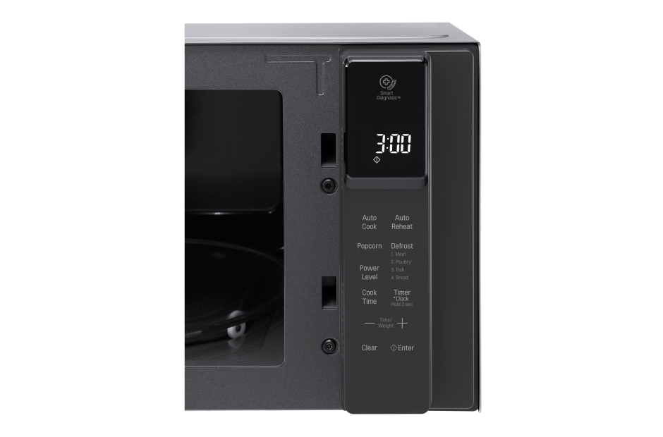 Model: LMC0975ST   LG 0.9 cu. ft. NeoChef™ Countertop Microwave with Smart Inverter and EasyClean®