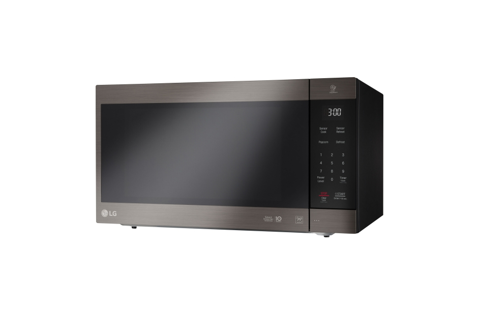 Model: LMC2075BD | LG LG Black Stainless Steel Series 2.0 cu. ft. NeoChef™ Countertop Microwave with Smart Inverter and EasyClean®