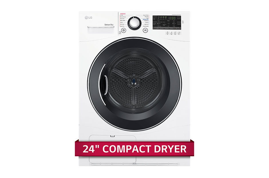 LG 4.2 cu.ft. Compact Electric Condensing Front Load Dryer