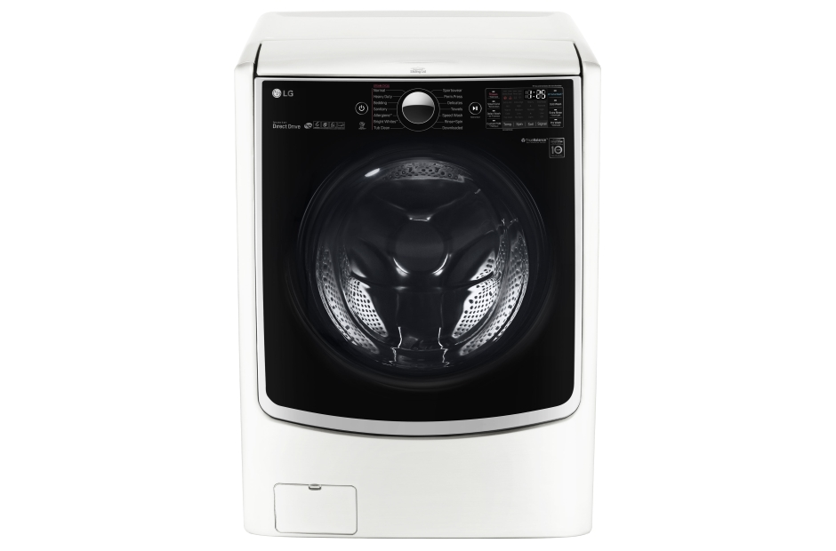 LG 4.5 cu. ft. Large Smart wi-fi Enabled Front Load Washer w TurboWash®