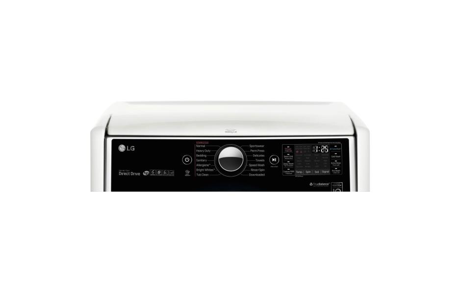 Model: WM5000HWA | LG 4.5 cu. ft. Large Smart wi-fi Enabled Front Load Washer w TurboWash®