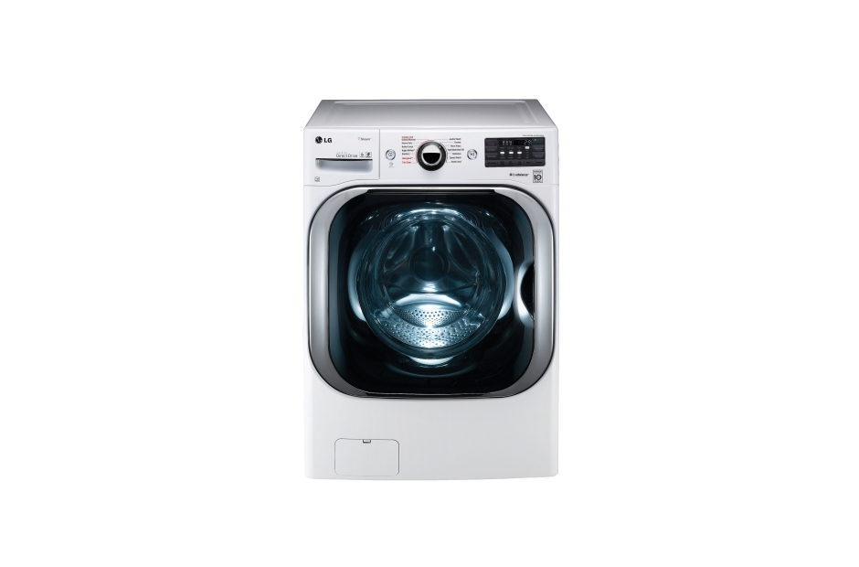 LG 5.2 cu. ft. Mega Capacity TurboWash® Washer with Steam Technology