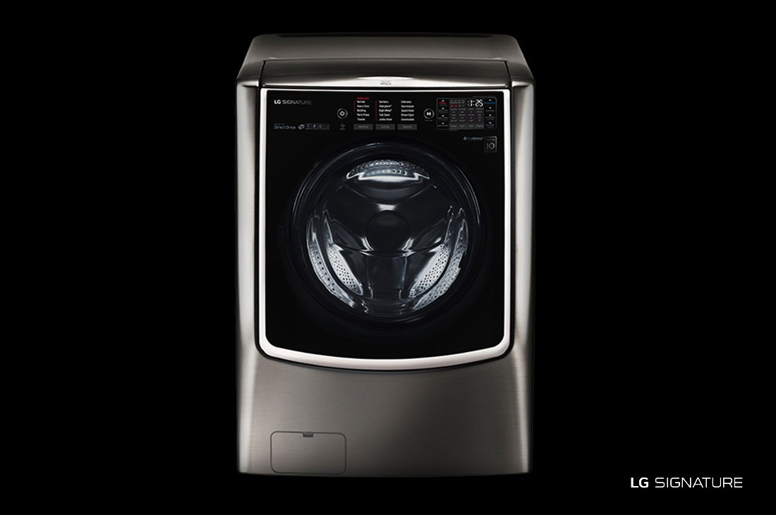 LG LG SIGNATURE 5.8 cu. ft. Large Smart wi-fi Enabled Front Load Washer