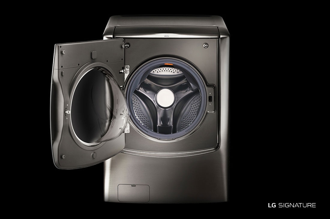 Model: WM9500HKA | LG SIGNATURE 5.8 cu. ft. Large Smart wi-fi Enabled Front Load Washer