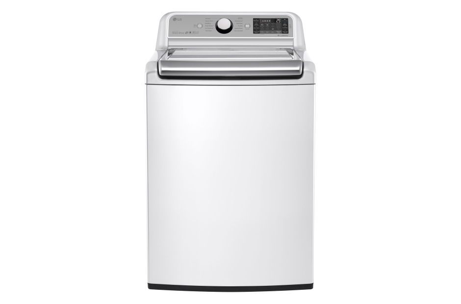 Model: WT7500CW | 5.2 cu. ft. Mega Capacity Top Load Washer with TurboWash® Technology
