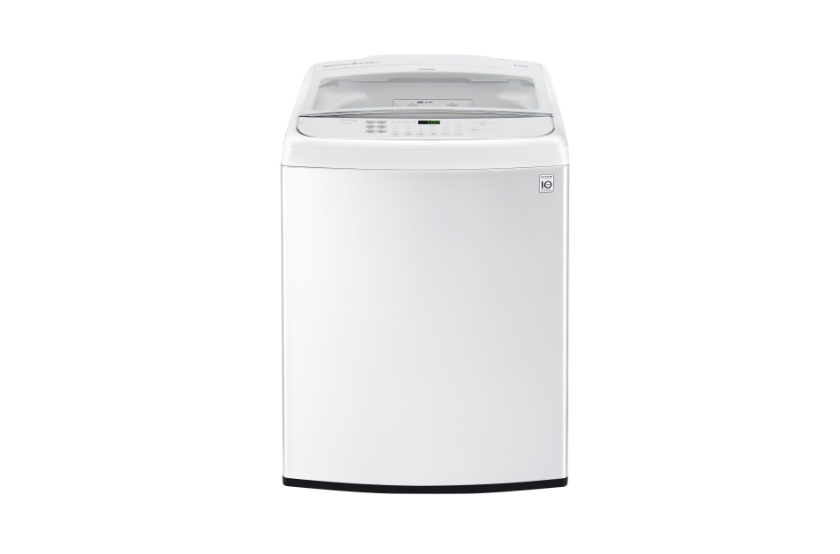 LG 5.0 cu. ft. Large Smart wi-fi Enabled Front Control Top Load Washer with TurboWash®