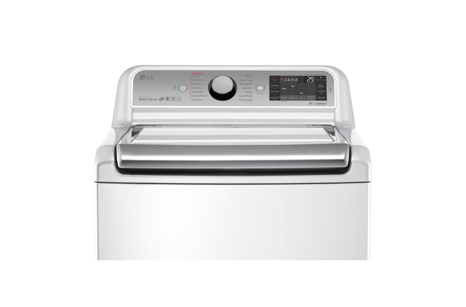 Model: WT7600HWA | LG 5.2 cu. ft. Mega Capacity Top Load Washer with TurboWash® Technology
