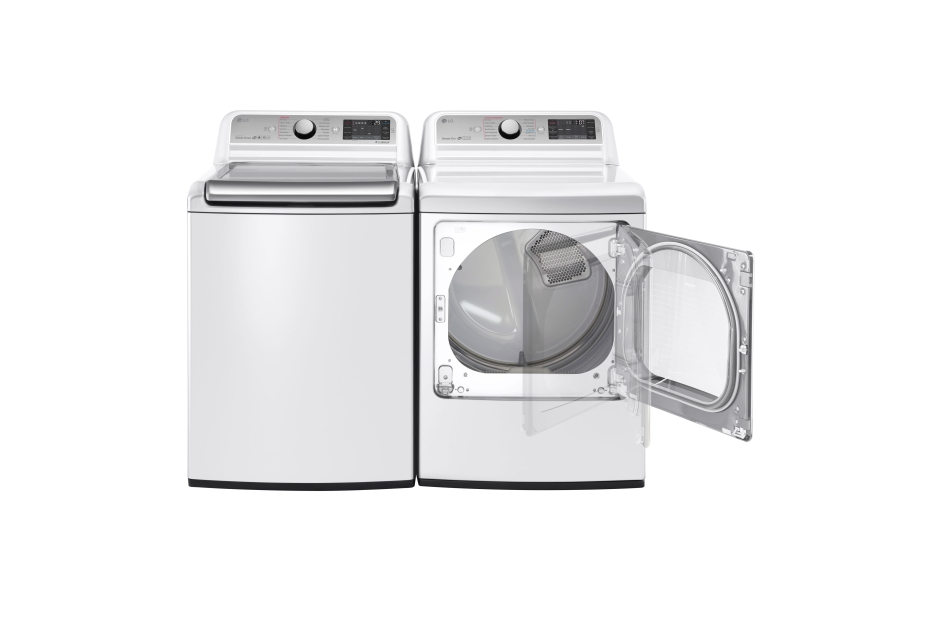 Model: WT7600HWA | 5.2 cu. ft. Mega Capacity Top Load Washer with TurboWash® Technology