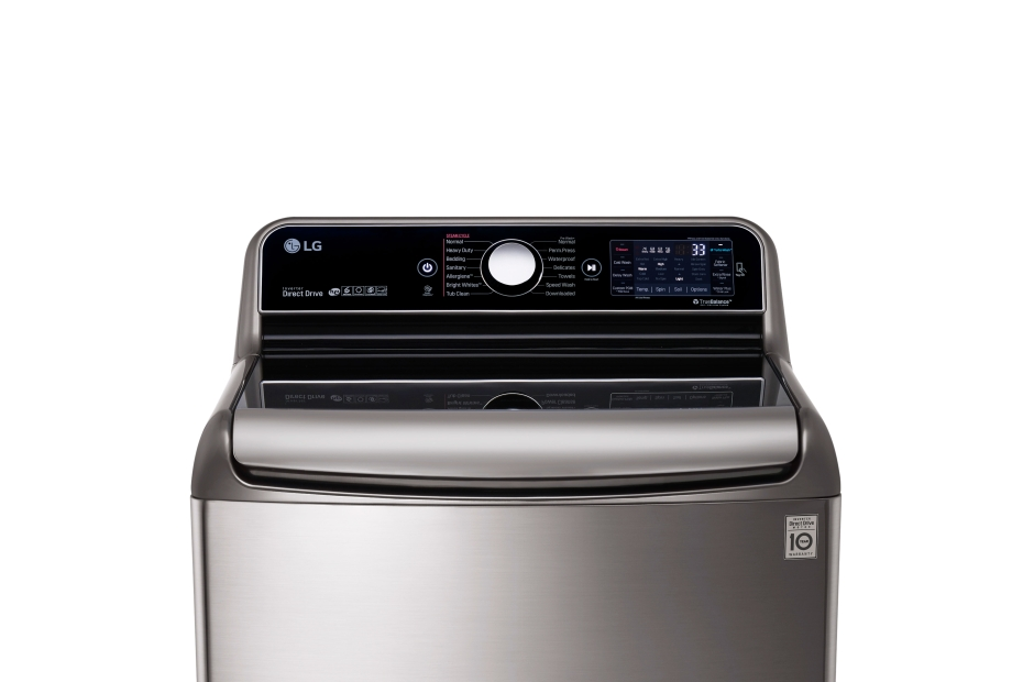 Model: WT7700HVA | 5.7 Cu.Ft. Mega Capacity Top Load Washer With TurboWash® Technology