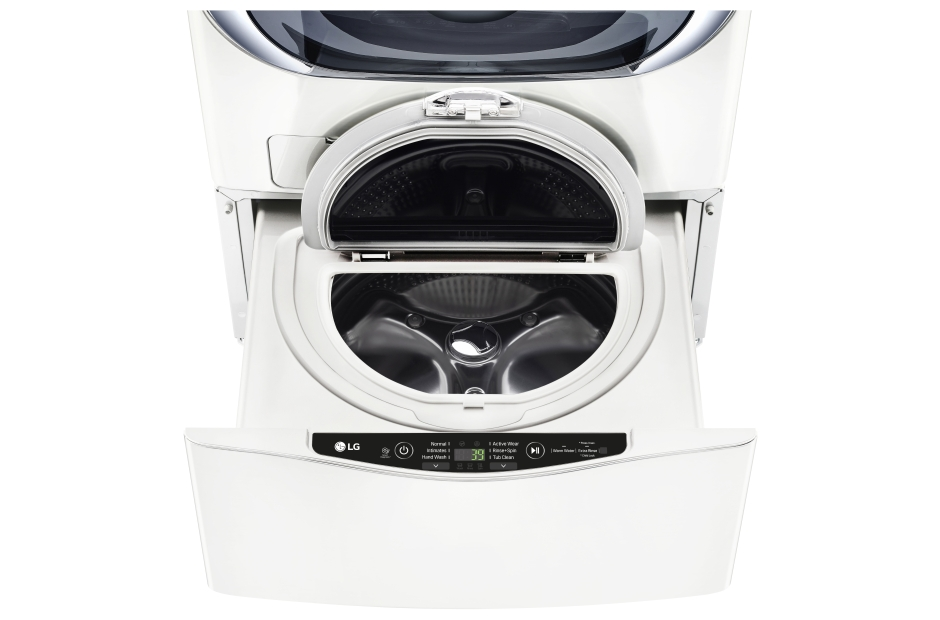 Model: WD100CW | 1.0 cu. ft. LG SideKick™ Pedestal Washer, LG TWINWash™ Compatible