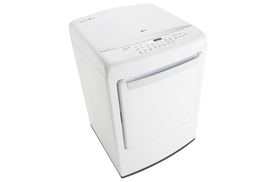 Model: DLE1501W | LG 7.3 cu. ft. Ultra Large Capacity High Efficiency Front Control Dryer w/ NFC Tag On