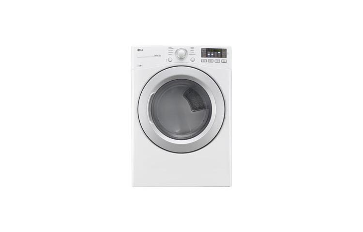 Model: DLE3170W | LG 7.4 cu. ft. Ultra Large Capacity Dryer w/ NFC Tag On Technology