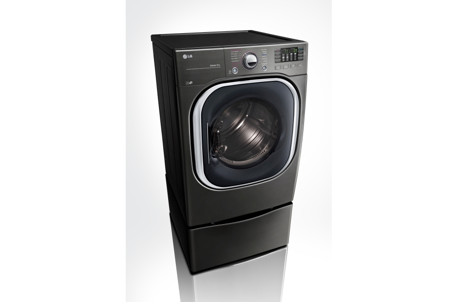 Model: DLEX4370K | LG 7.4 cu.ft. Ultra Large Capacity TurboSteam™ Electric Dryer