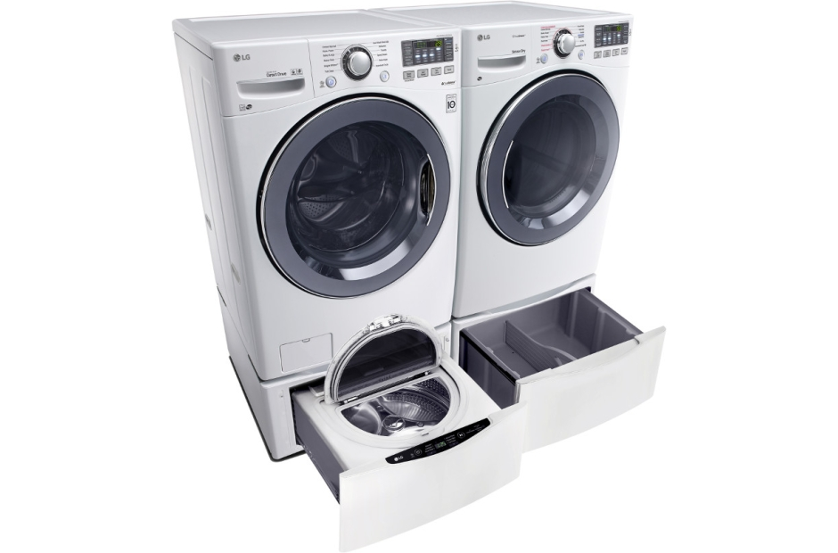 5.3 Total Capacity LG TWINWash™  Bundle with LG SideKick™ and Electric Dryer