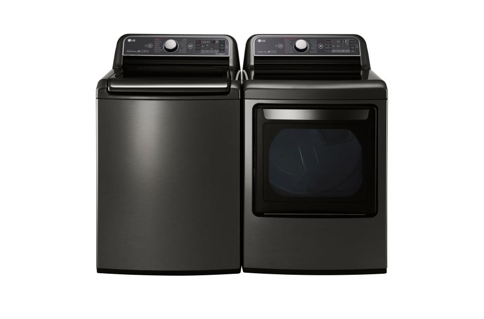 Model: DLEX7600KE | 7.3 cu. ft. Ultra Large Capacity TurboSteam™ Electric Dryer with EasyLoad™ Door