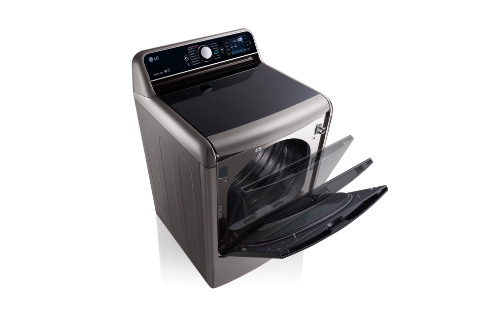 9.0 Cu. Ft. Mega Large Capacity TurboSteam™ Dryer With EasyLoad™ Door