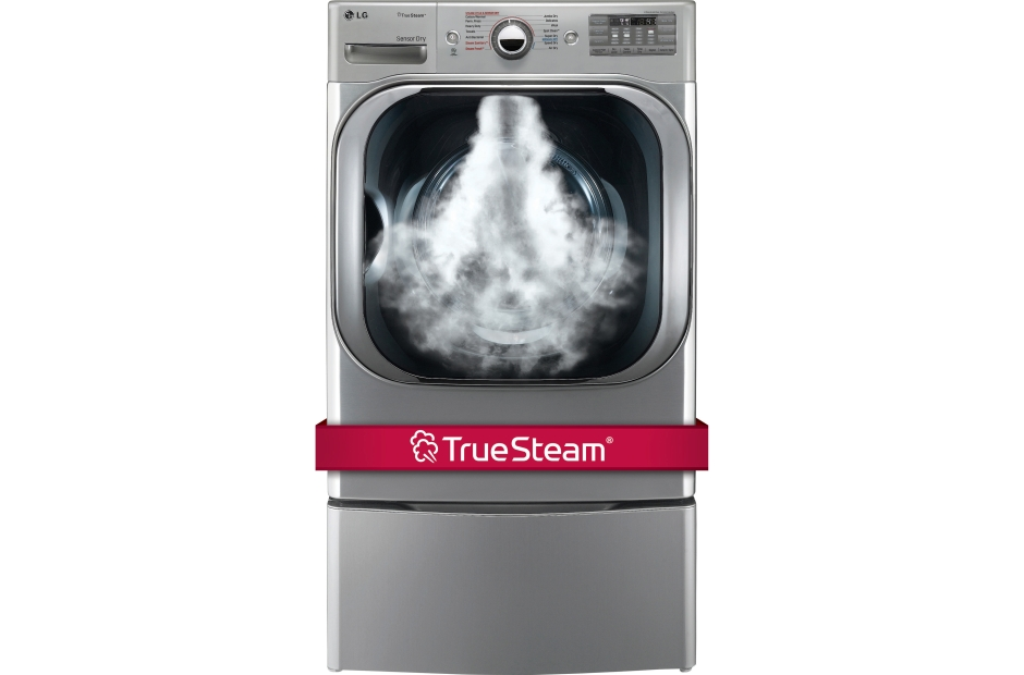 LG 9.0 cu. ft. Mega Capacity Electric Dryer w/ TrueSteam®