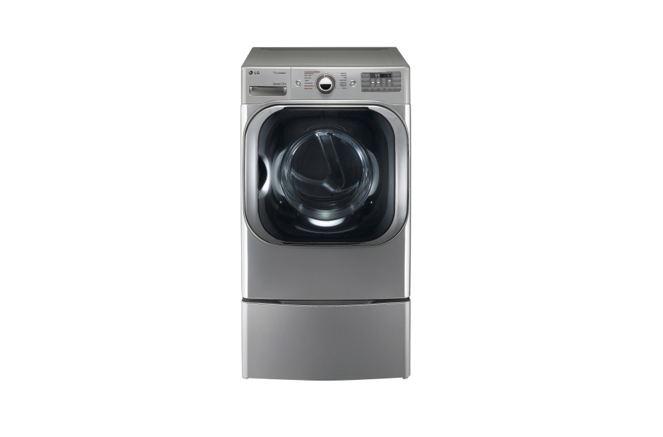 Model: DLEX8100V | LG 9.0 cu. ft. Mega Capacity Electric Dryer w/ TrueSteam®