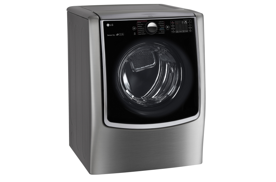 Model: DLEX9000V | LG 9.0 cu. ft. Large Smart wi-fi Enabled Electric Dryer w/ TurboSteam™