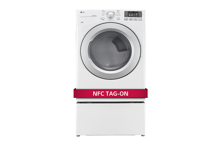 LG 7.4 cu. ft. Ultra Large Capacity Dryer w/ NFC Tag On Technology